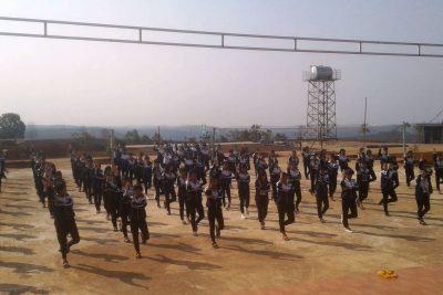Khỏe đẹp, có ích với thể dục giữa giờ tại trường PT DTNT THCS và THPT huyện Tuy Đức