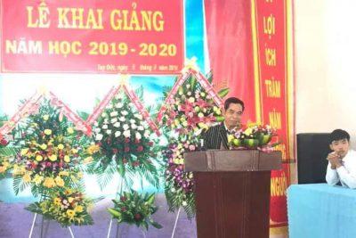 Lễ Khai giảng năm học 2019-2020 của thầy và trò trường PT DTNT THCS & THPT huyện Tuy Đức