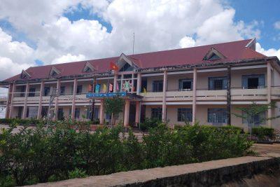 Mái trường PT DTNT THCS và THPT huyện Tuy Đức